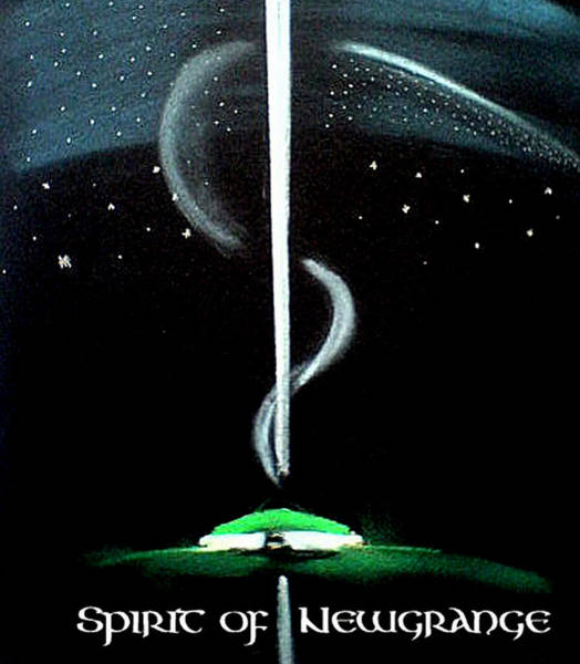 Painting - Spirit Of Newgrange by Ahonu