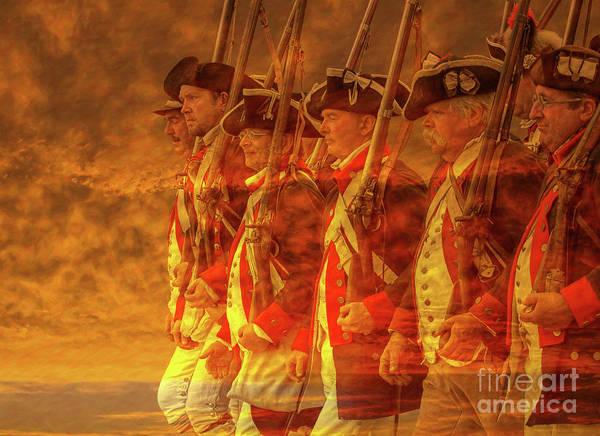 Declaration Of Independence Digital Art - Spirit Of Revolution by Randy Steele
