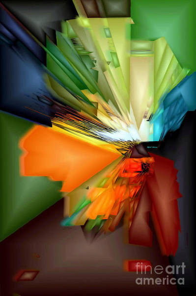 Digital Art - Spirit Or Design by Rafael Salazar