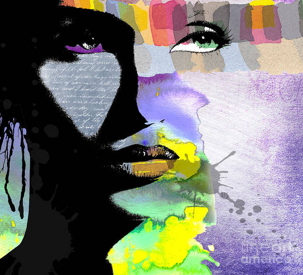Vibrant Color Wall Art - Digital Art - Spirit by Ramneek Narang