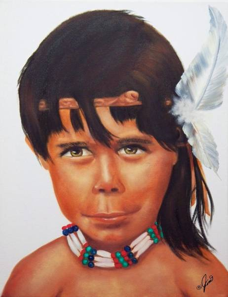 Painting - Spirit Watcher by Joni McPherson