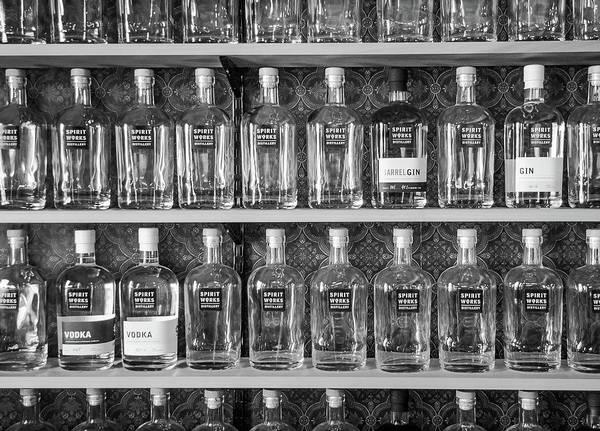 Spirit World Bottles Art Print