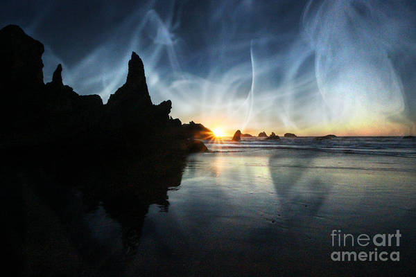 Photograph - Spirits At Sunset by Jenny Revitz Soper