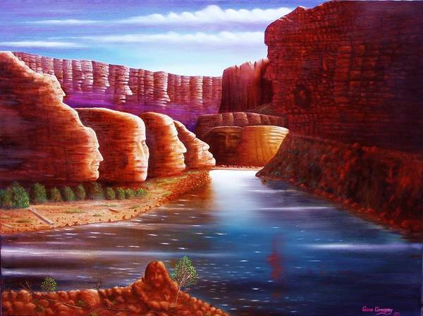 Painting - Spirits Of The River by Gene Gregory