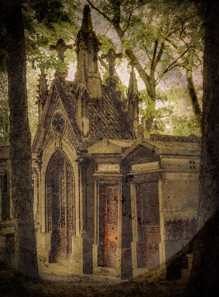 Photograph - Paris, France - Spirits - Pere-lachaise by Mark Forte