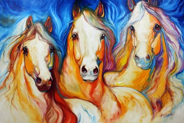 Painting - Spirits Three by Marcia Baldwin