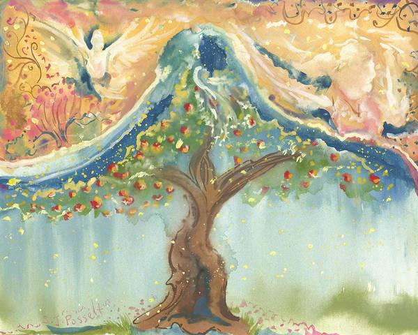 Spiritual Embrace Art Print