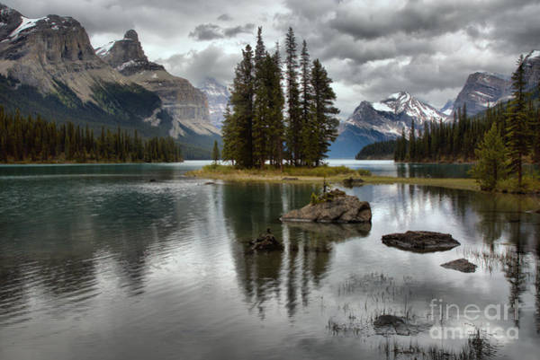 Photograph - Spiritual Reflections Under The Storm Clouds by Adam Jewell