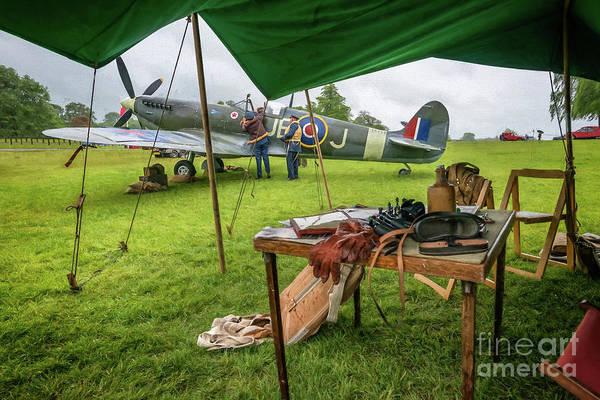 Spitfire Photograph - Spitfire by Adrian Evans