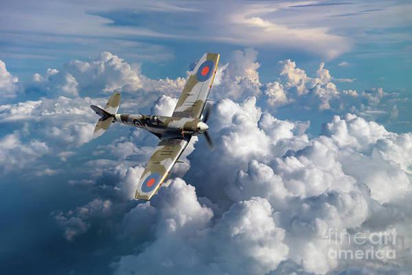 Wall Art - Digital Art - Spitfire Ep120 by J Biggadike