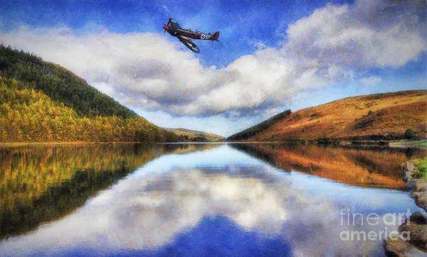 Photograph - Spitfire Lake Flight by Ian Mitchell