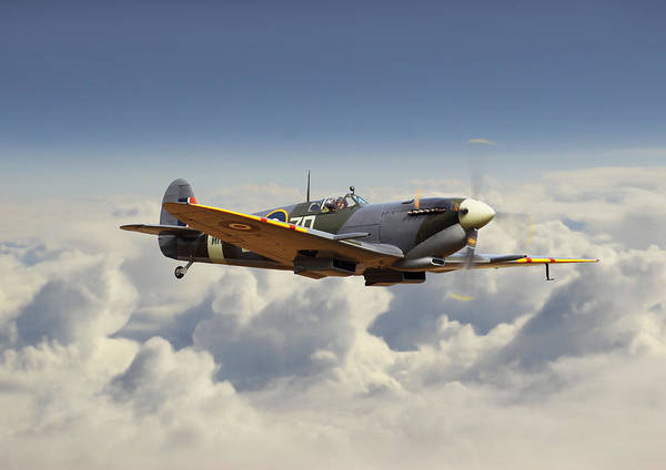 Spitfire Photograph - Spitfire Mk 9 - Classic Legend by Pat Speirs