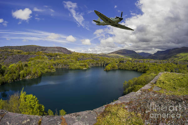 Photograph - Spitfire Quarry by Ian Mitchell
