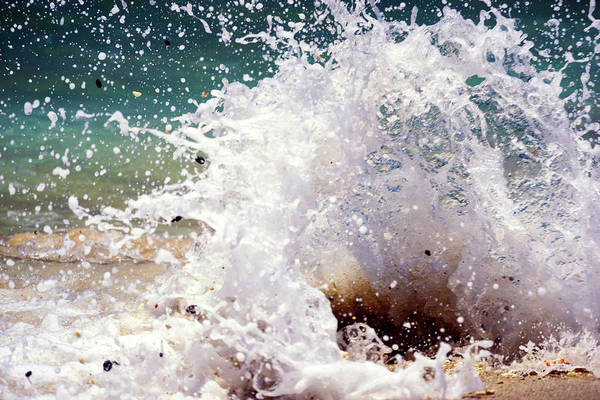 Photograph - Splash by Christopher Johnson