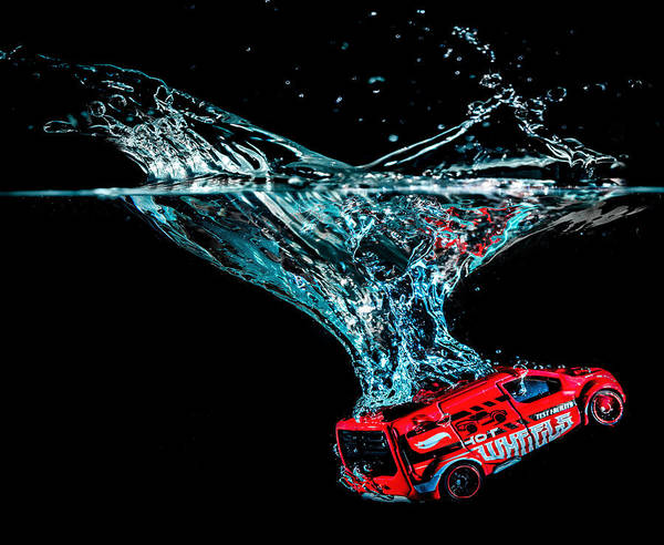 Photograph - Splash Down by Nick Bywater