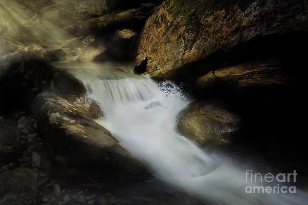 Photograph - Splash Falls by Tim Wemple