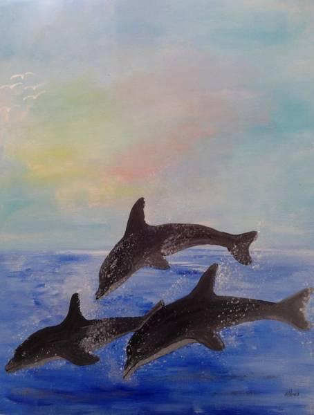 Painting - Splash by Karen Jane Jones