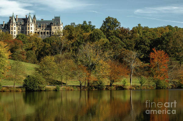 Photograph - Splash Of Color At Biltmore by Dale Powell