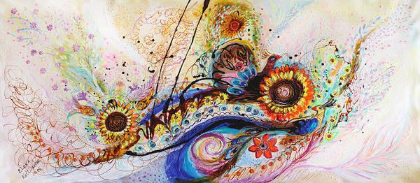 Wall Art - Painting - Splash Of Life #12 by Elena Kotliarker