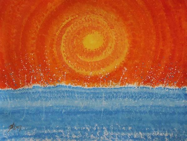 Painting - Splash Original Painting by Sol Luckman