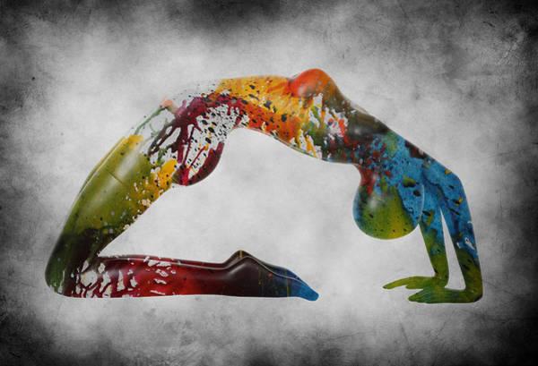 Lingery Wall Art - Painting - Splash by Steve K
