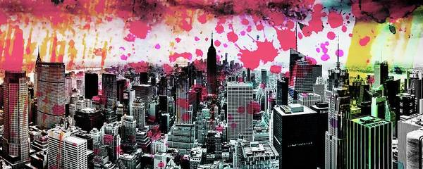 Midtown Photograph - Splatter Pop by Az Jackson