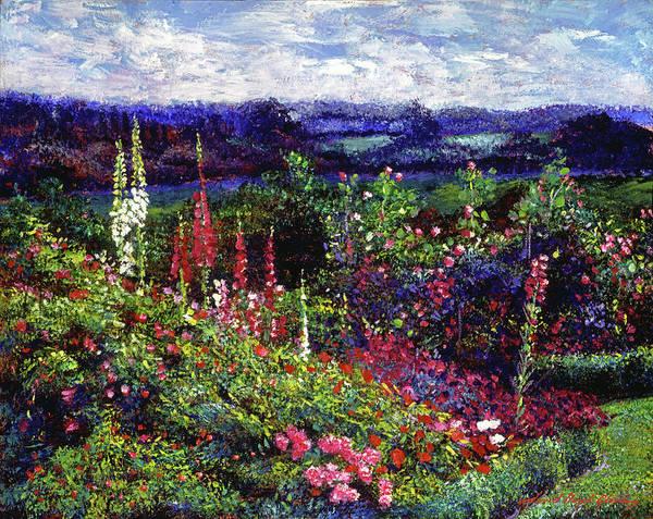 Painting - Splendorous Garden by David Lloyd Glover