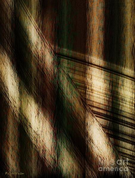 Wall Art - Painting - Splinter And Fray by RC DeWinter