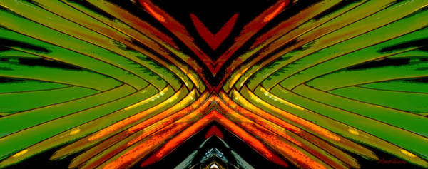 Digital Art - Split - Abstract by Michelle Constantine