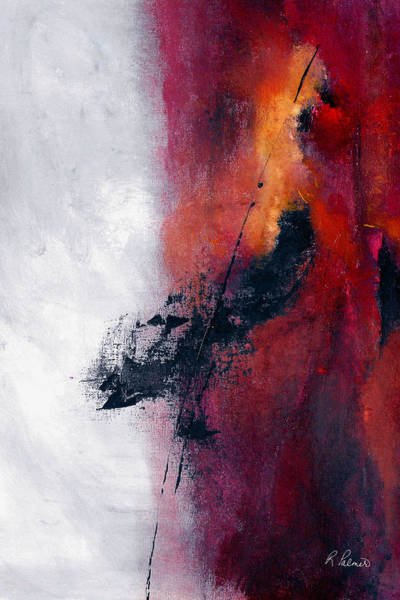 Irregular Painting - Split Decisions by Ruth Palmer