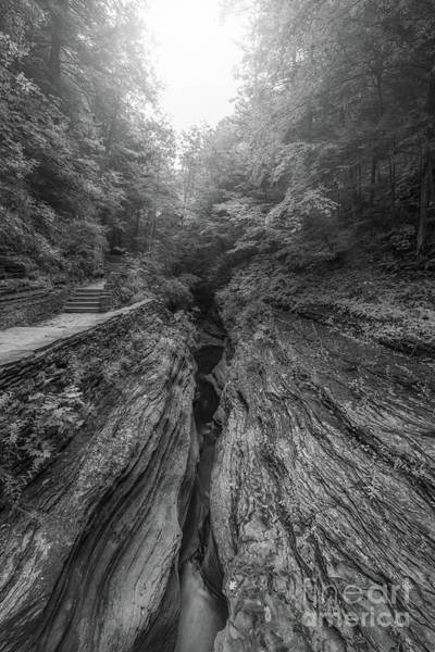 Wall Art - Photograph - Split Earth Bw by Michael Ver Sprill