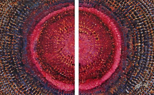 Painting - Split Infinity Original Painting by Sol Luckman
