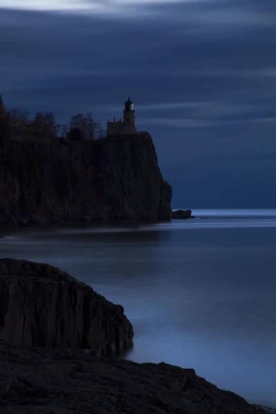 Photograph - Split Rock 1 by CA  Johnson