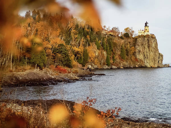 Photograph - Split Rock Lighthouse by Whitney Leigh Carlson