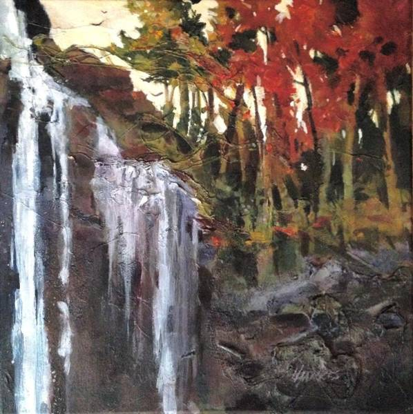 Painting - Splitrock Falls by Helen Harris