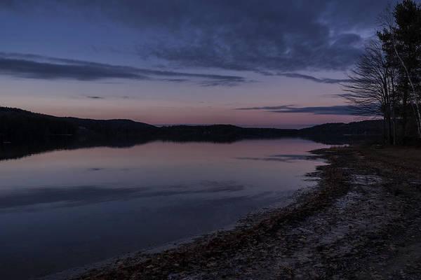 Photograph - Spofford Lake Twilight by Tom Singleton