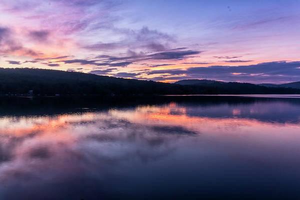 Photograph - Spofford Sunrise by Tom Singleton