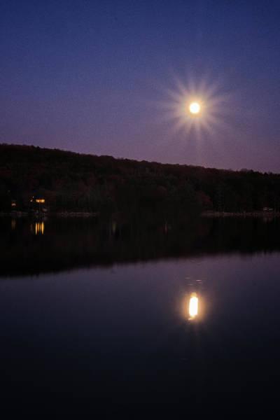 Photograph - Spofford Super Moon by Tom Singleton