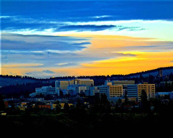 Photograph - Spokane #1 by Ben Upham III