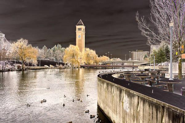 Photograph - Spokane Fantasy 2 by Lee Santa