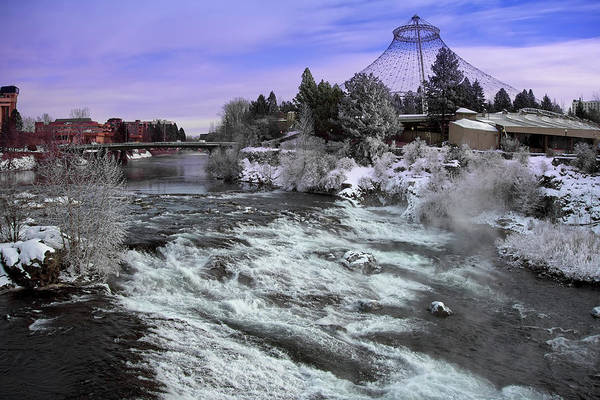 Wall Art - Photograph - Spokane Pavilion Winter by Daniel Hagerman