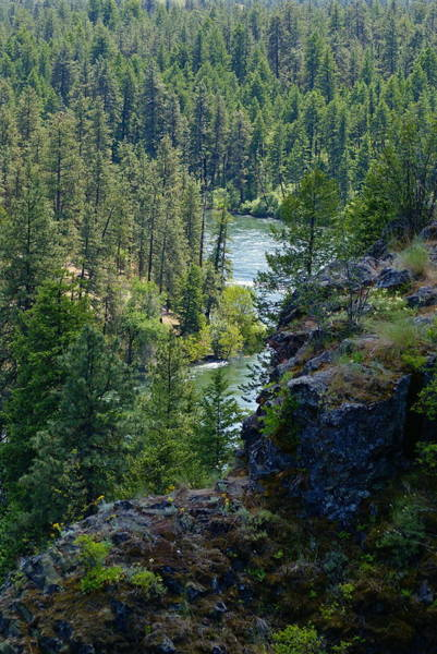 Photograph - Spokane River By The Bowl And Pitcher by Ben Upham III