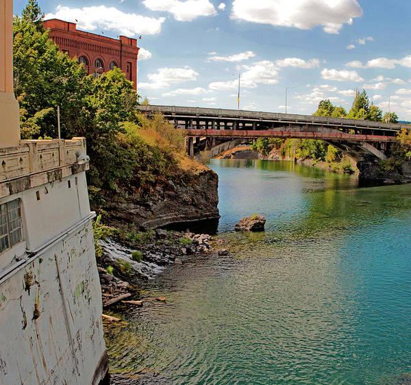 Photograph - Spokane River by Lee Santa