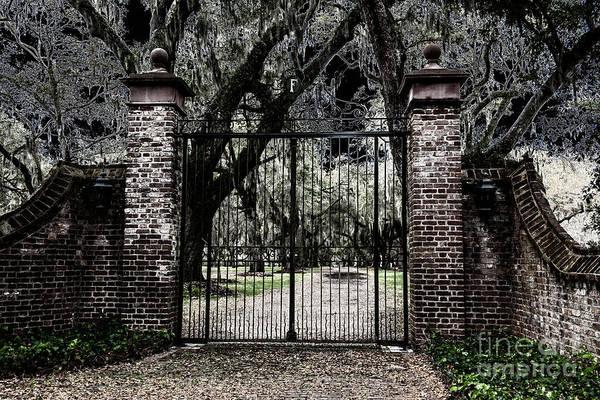Photograph - Spooky Fenwick Castle Gate by Dale Powell