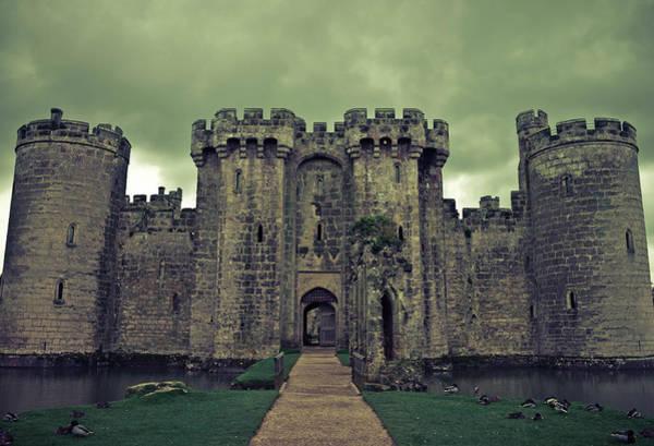 Bodiam Photograph - Spooky History Of Bodiam by Adrian Soper