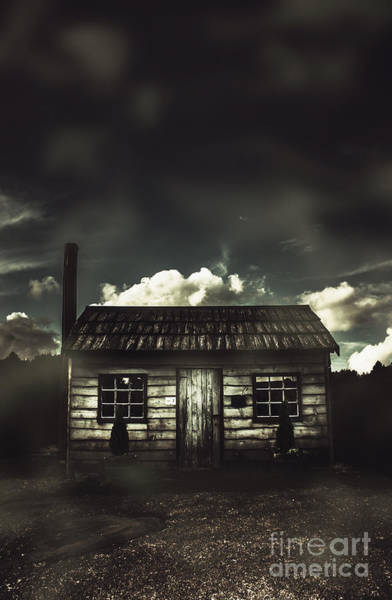 Photograph - Spooky Old Abandoned House In Dark Forest by Jorgo Photography - Wall Art Gallery
