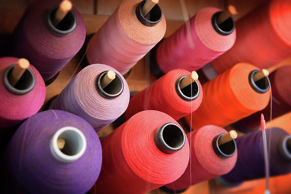 Photograph - Spools by Bud Simpson