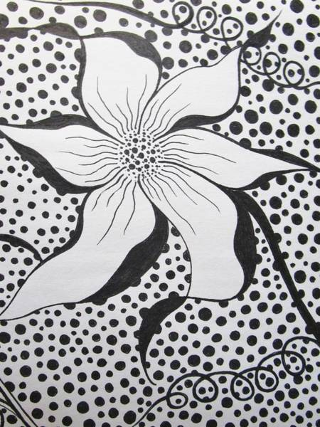 Drawing - Spoted by Rosita Larsson
