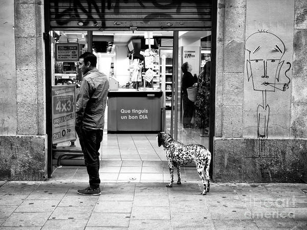 Photograph - Spots In Barcelona by John Rizzuto
