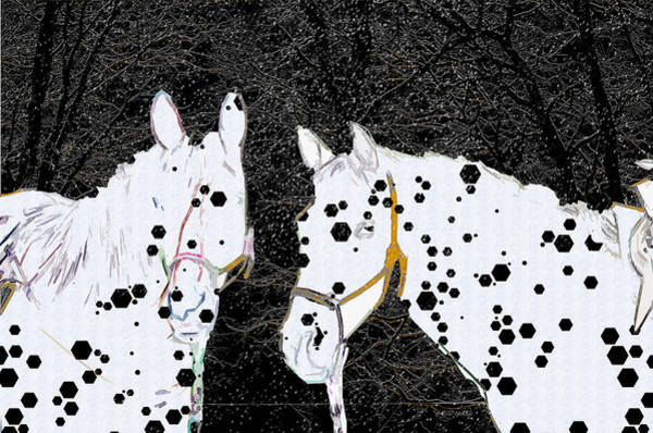 Photograph - Spotted Horses by Ericamaxine Price
